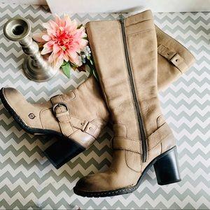 BORN Natasha Sz 8.5 Leather Knee High